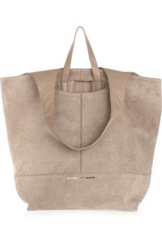 Alexander Wang Alpha leather and suede shopper