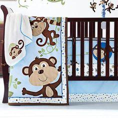 Babys First® Monkeyn Around 5-Piece Crib Set - 3