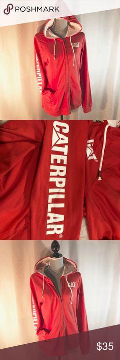 955ccff239c CAT Caterpillar Workwear Zip-up Hoodie Sweatshirt This zip-up sweatshirt is  in great
