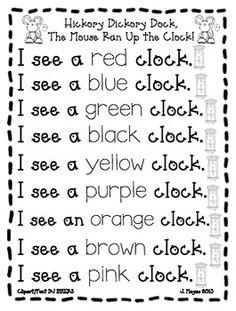 $10 Nursery Rhymes {Beginning of Kindergarten Fun}