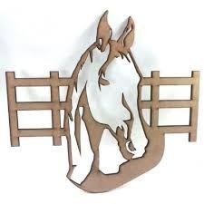 Resultado de imagen para porta collares de caballos en mdf