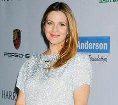 Drew Barrymore Reveals She's Having a Second Baby Girl at 2013 Beauty Inc Awards In NYC