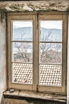 Old Window - #corfu #kerkyra #ionianislands #greece #greeceislands #stylianos_photography  #travel #traveller  #traveling #tourism #tourist #landscape #landscapes #photography #photographer #sky #stylianosphotography #clouds #window #oldwindow #megulasvillage #