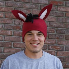 Now THIS is true dedication. Show your Mule pride in style! (Designed by a UCM student) Fleece Red Mule Beanie