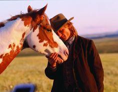 "Viggo Mortensen and Mustang in the movie ""Hidalgo"""