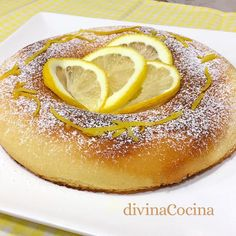 bizcocho limon microondas entero Dessert Micro Onde, Microwave Cake, Sous Vide, Sin Gluten, Kitchen Recipes, Flan, Bon Appetit, Food Photography, Bakery