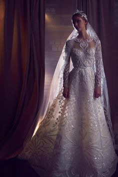 480f715dce67b A look from the Elie Saab Fall 2018 bridal collection. Photo  Courtesy  Bridal Dresses