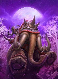 Warcraft Cover Mammoth by PRDart.deviantart.com on @deviantART