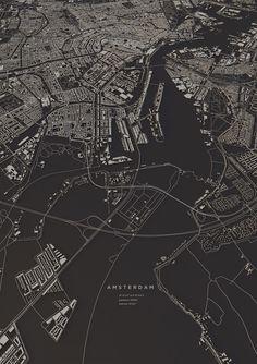 Extraordinary City Layout Visualisation