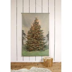 Schoolplaat Kerstboom XL - 124x2,5xH186 cm