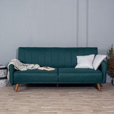 Sofa tapicerowana Temmelig ciemno zielona