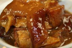 #Filipino Lechon Paksiw, Sweet Roast Pork Belly Stew #FilipinoHolidayFoods