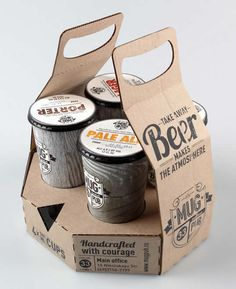 Cool beer package - well, unusual at least!