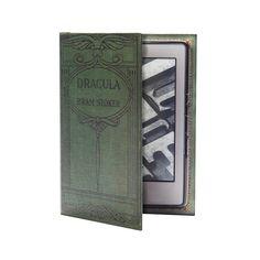 Funda para Kobo Glo, diseño de libro Dracula†† Cosas de  Vampiros ††