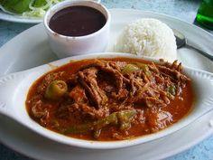 comida panameña | Ropa vieja en salsa con vegetales | Recetas de Cocina