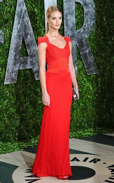 Rosie in Antonio Berardi. Can we switch bods for awhile?