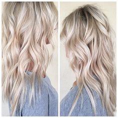 Love Hair, Great Hair, Gorgeous Hair, Blonde Hair Looks, Brown Blonde Hair, Bright Blonde Hair, Hair Shades, Hair Affair, Grunge Hair