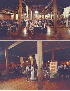 Really lovely wedding at The Cotton Warehouse - Monroe, Ga.