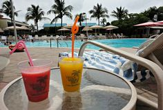 Mango or strawberry?  Smoothies at Tween Waters Inn Captiva Florida are a fantastic way to cool off from the summer sun. www.tween-waters.com