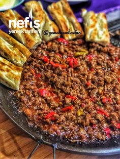 Hair Frying Pan (Lamb Cubed) - Delicious Recipes - Hair Pan (Lamb Cubed) # Saçtav to foods the you - Iftar, Turkish Recipes, Italian Recipes, Turkish Sweets, Turkish Kitchen, Lunch Recipes, New Recipes, Dried Beans, Fresh Fruits And Vegetables