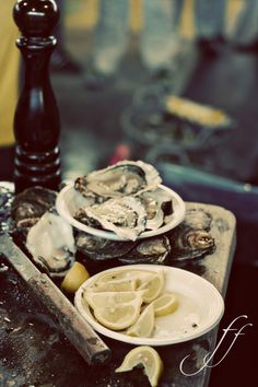 oysters - huîtres