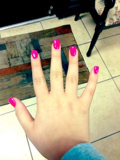 My birthday nails from today