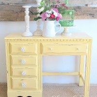 Sweet Pickins Furniture...Have this EXACT desk in off white in my garage with bookshelf on top...it was my daughter's and just waiting for a re-do!!! :)