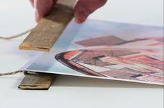 DIY Easy, magnetic, interchangeable, frame for kids artwork and seasonal printables. Love this! || https://www.skillshare.com/videos/Inexpensive-Wooden-Poster-Frame/39