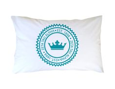 Greek Graffiti's Zeta Tau Alpha Standard Symbol Pillowcase. http://greekgraffiti.com/collections/zeta-tau-alpha/products/zeta-tau-alpha-pillowcase