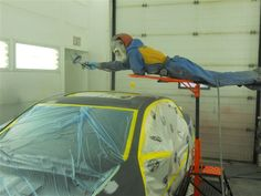 The Elevator can help to do various auto body work