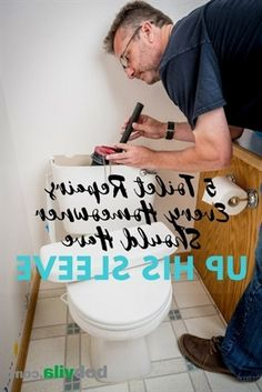 If there's one household fixture we really rely on—and hate to have to fix—it's the toilet. But while these fixtures are prone to acting up now and then, the good news is many common toilet repairs… Toilet Repair, Plumbing Pipe Furniture, Good News, Acting, Hate, Household, Good Things