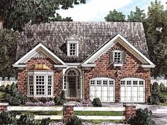 Eplans Cottage House Plan - Stunning Interior Layout - 1506 Square Feet and 3 Bedrooms(s) from Eplans - House Plan Code HWEPL09347