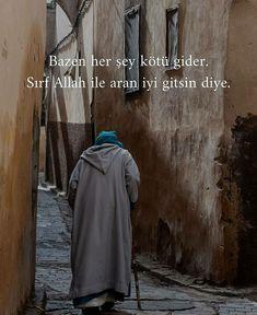 Cute Cat Wallpaper, True Words, Islamic Quotes, Cool Words, Karma, Allah, Spirituality, Turkish Language, Uplifting Quotes