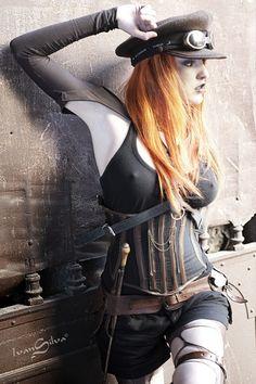 diegueus9: Steam Punk Sensuality by Ivan Silva - Steampunk girls