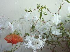 Laurence Aguerre - Explorations et Sculptures Textiles: Balades Artistiques de Printemps