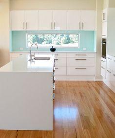 Beautiful clean kitchen design