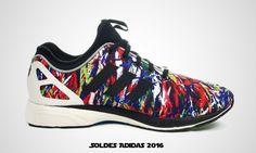online retailer 0e0d1 73b69 Adidas Originals Zx Flux Tech Nps Multicolor Noir Blanc. Adidas Chaussures