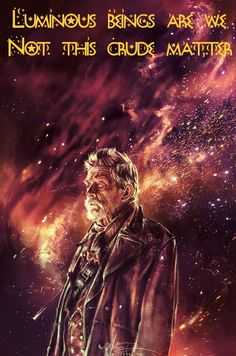 Star Wars/Doctor Who crossover quote. Artwork by alice x zhang