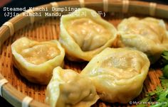 Steamed Kimchi Dumpling (Jjin Kimchi Mandu) Recipe with step by step photos and lessons learnt along the way
