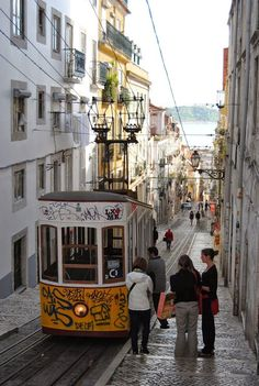 Rua do Loreto, Lisbon, Portugal