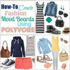 Love Of Family & Home: How To Create A Fashion Mood Board Using Polyvore {Polyvore Tutorial}