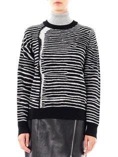 A.L.C. Zebra knit sweater