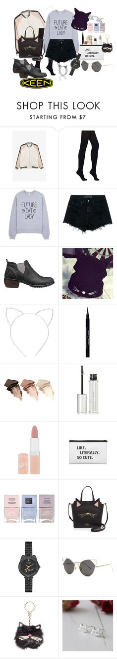 """""""So Fresh and So Keen: Contest Entry"""" by this-styleistaken ❤ liked on Polyvore featuring Monki, Wolford, Alexander Wang, Keen Footwear, Hats 'n' Tales, Cara, Givenchy, Urban Decay, Rimmel and Nails Inc."""