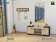 Sims 4 CC's - The Best: Corridor Furniture by xyra33
