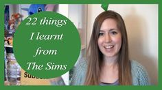 22 Things I Learnt From The Sims | Rachybop