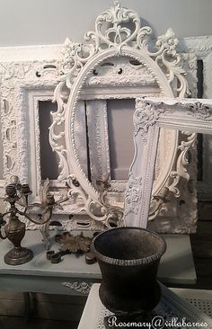 Frames- amazing what paint can do