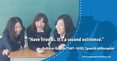 #friendship #BaltasarGracian #philosophy #quote #CompellingConversations