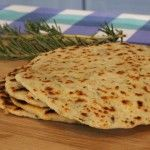 Parmesan and Rosemary Flatbreads