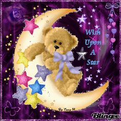 """Good Night Pictures - Bear- I wish God bless our future family (us) with leadership traits like a bear at work but we still possess """"butterfly"""" characteristics in social setting like the fellowship in church. Does it sound cool? Good Night Sleep Tight, Cute Good Night, Good Night Sweet Dreams, Good Night Image, Good Night Quotes, Good Morning Good Night, Good Night Greetings, Good Night Messages, Good Night Wishes"""