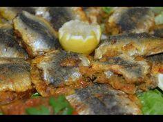 سردين معمر ومحمر في الفرن Sardines farcies et rôties au four - YouTube